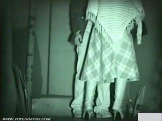 Infrared camera vojer publike seks