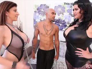 fan, big dick, stora bröst