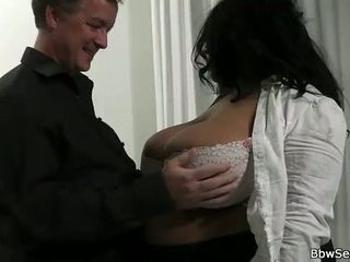 Husband cheating with huge titted ebony fatty