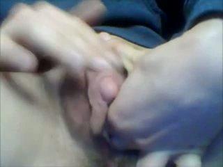 masturbatie, amateur, behaard