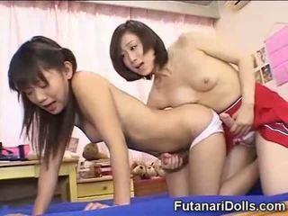 日本, 小, futanari