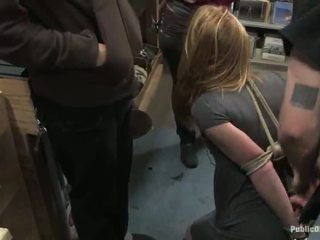 Ami Emerson Has Shaged From Backside In A Shop And Appreciates It