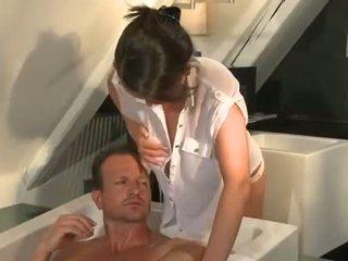 Groot natuurlijk boezem in de bath