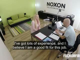 kantor, wawancara, doggy-style