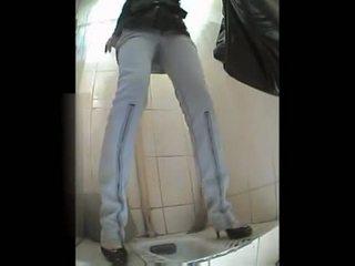 Russisch vrouw toilet video-