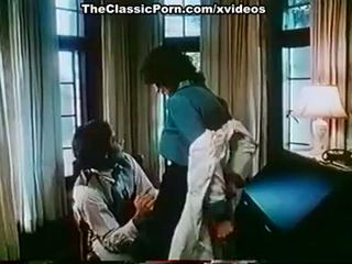 Kay parker, john leslie 에 포도 수확 xxx 클립 와 큰 섹스 장면
