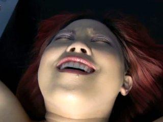 Porner premium jon r: aziāti rūdmataina vergs gets hooked augšup no pavēlniece