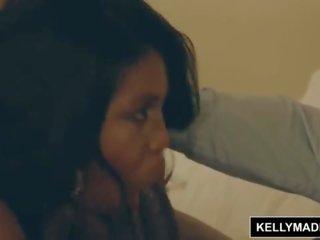 Kelly madison - बड़ा चूची ईबोनी maserati भूखा के लिए bbc