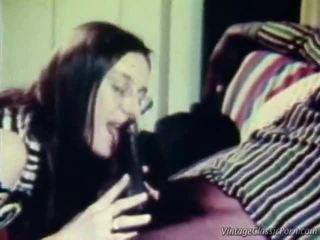 interracial, porno retro, vintage sex
