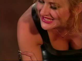 Cruel Mistress torture her Lesbo slave