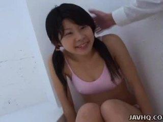 Azjatyckie nastolatka ssanie to jako ciężko jako ona puszka