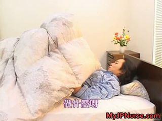 Bunko kanazawa еротичний азіатська медсестра teaches