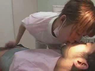 Female japoniškas dentist video