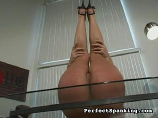 Famous Perfect Spanking Shows Nice Col...