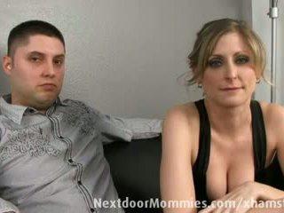Guy tahad tema abielunaine banged poolt a mustanahaline riist