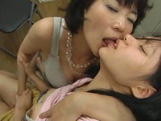 japanisch, lesben, höschen
