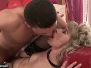 Granny Sex Compilation with one fine stud