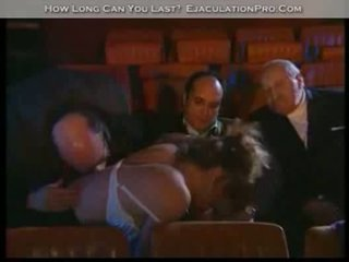 Orgy in the cinema w oldies part2