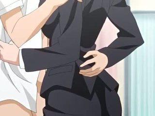 Suur meloned anime getting näkku purskamine