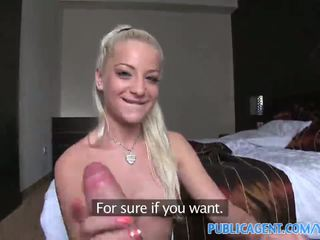 Publicagent blonde amateur modelling shoot sex with cameraman