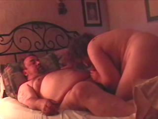 Fat Guy and Single Mom Neighbor Have Playful Sex 1 of 3