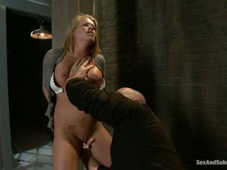 white, young, blowjob, humiliation, submission, tied