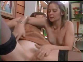 Frans anaal trio, gratis frans trio porno video- 1f