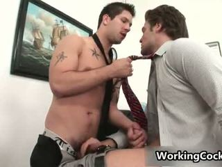 Andrew Blue gets his firm sausage sucked