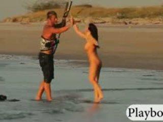 Hot Playmates Tryout Kite Boarding Naked