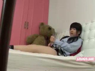 Χαριτωμένο seductive κορεατικό μωρό γαμήσι