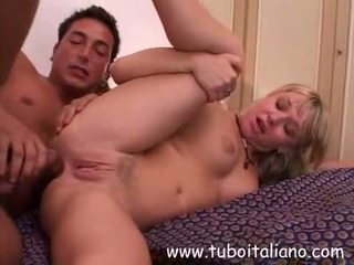 Italiaans blondine ex vriendin