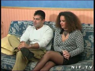 French amateur couple doing anal sex i...