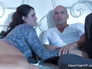 cum shot, rasiert, große titten