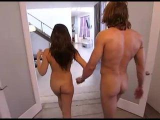 brunett, big dick, nice ass