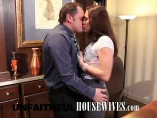 Gracie glam gets o greu dong slamming acest chabr dripping pizda