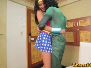 Super Latina Tranny Analfucked And Facialized
