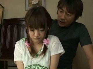 Japonsko av model drobcene azijke bejba