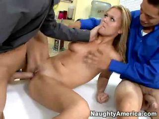 tiener sex, pijpbeurt, office sex