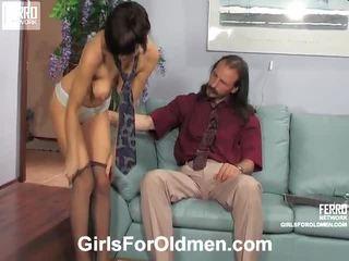 штаб жорстке порно номінальний, веселощі річний молодий секс, всі oldmen