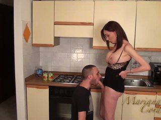 Mariana cordoba horký v the kuchyně