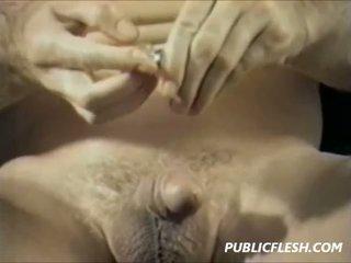 Vintāža gejs urethra ievadīšana