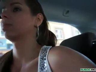 Cute Czech girl Janica fucked for cash