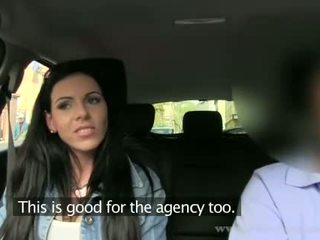 Busty Vikki tricked by this fake agent