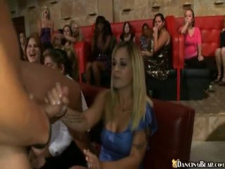 Male Stripper Goes Around Reciving Bjs And Sex