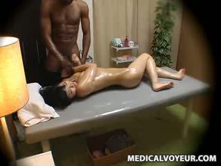 Aýaly molested by gara masseur