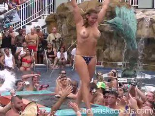 Unspeakable debauchery en florida piscina fiesta