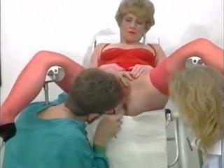 غريب مجموعة من ثلاثة أشخاص في ال gyneco, حر مشعرات الاباحية فيديو 95