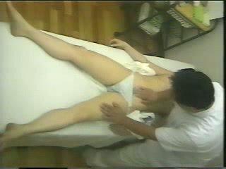 Spycam masáž video