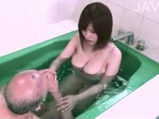 ญี่ปุ่น, สาวใหญ่, titjob