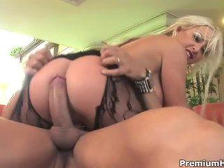 Big tits milf ass drilled and cummed